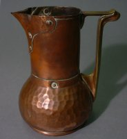 Soutter Ware jug at Herbert Art Gallery & Museum, 				Coventry